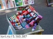 Куклы вязанные (2013 год). Редакционное фото, фотограф Григорий Аванесян / Фотобанк Лори