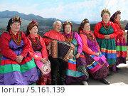 Купить «Хор семейских», фото № 5161139, снято 1 июня 2013 г. (c) Валерий Митяшов / Фотобанк Лори