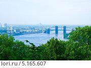 Киев вид сверху (2013 год). Стоковое фото, фотограф Мария Тильда / Фотобанк Лори
