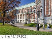 Царицыно фасад дворца (2013 год). Редакционное фото, фотограф Дмитрий Востриков / Фотобанк Лори