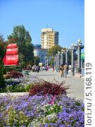 Купить «Город курорт Анапа. Набережная», фото № 5168119, снято 13 октября 2013 г. (c) Игорь Архипов / Фотобанк Лори