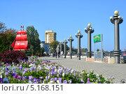 Купить «Город курорт Анапа. Набережная», фото № 5168151, снято 13 октября 2013 г. (c) Игорь Архипов / Фотобанк Лори