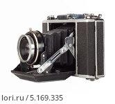 Старый фотоаппарат. Стоковое фото, фотограф Алексей Лукин / Фотобанк Лори