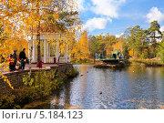 Пруд в парке имени Гагарина, Челябинск (2013 год). Редакционное фото, фотограф Артём Крылов / Фотобанк Лори