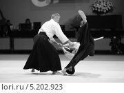 Показательные выступление мастеров айкидо (2013 год). Редакционное фото, фотограф Анатолий Дьяков / Фотобанк Лори