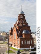 Купить «Владимир. Троицкая церковь на театральной площади.», фото № 5203539, снято 20 октября 2013 г. (c) Matwey / Фотобанк Лори