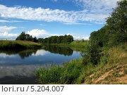 Река. Стоковое фото, фотограф Антон Ч. / Фотобанк Лори
