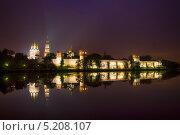 Купить «Ночной Новодевичий», фото № 5208107, снято 5 октября 2013 г. (c) Алексей Назаров / Фотобанк Лори