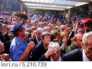Купить «Похороны Йованки Броз, вдовы первого президента бывшей Югославии Иосипа Броз Тито», фото № 5210739, снято 26 октября 2013 г. (c) oxana krutenyuk / Фотобанк Лори