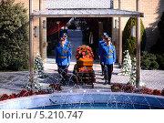 Купить «Похороны Йованки Броз, вдовы первого президента бывшей Югославии Иосипа Броз Тито», фото № 5210747, снято 26 октября 2013 г. (c) oxana krutenyuk / Фотобанк Лори