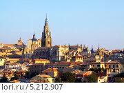 Купить «Кафедральный собор Святой Марии в Толедо, Испания», фото № 5212907, снято 23 августа 2013 г. (c) Яков Филимонов / Фотобанк Лори