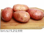 Купить «Клубни сырого картофеля», эксклюзивное фото № 5212939, снято 25 октября 2013 г. (c) Яна Королёва / Фотобанк Лори