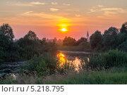 Волшебный вечер. Стоковое фото, фотограф Аркадий Рыпин / Фотобанк Лори