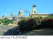 Музей искусства Каталонии, Испания (2010 год). Стоковое фото, фотограф Шакурова Галина / Фотобанк Лори