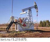Купить «Добыча нефти», фото № 5219875, снято 13 октября 2013 г. (c) Сагирова Алсу / Фотобанк Лори
