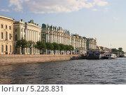Санкт-Петербург, Зимний дворец, набережная (2013 год). Редакционное фото, фотограф Дмитрий Казанцев / Фотобанк Лори