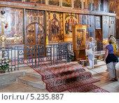 Иконостас Софийского собора в Великом Новгороде. Редакционное фото, фотограф FotograFF / Фотобанк Лори
