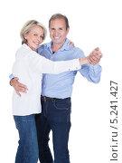 танцующие мужчина и женщина среднего возраста, фото № 5241427, снято 26 мая 2013 г. (c) Андрей Попов / Фотобанк Лори