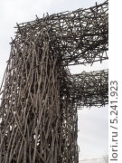 Арка из веток (2013 год). Стоковое фото, фотограф Андрей Павлов / Фотобанк Лори