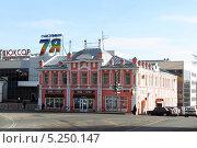 Купить «Город Клин, торговые ряды», эксклюзивное фото № 5250147, снято 1 ноября 2013 г. (c) Дмитрий Неумоин / Фотобанк Лори