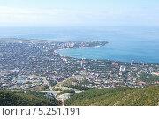 Вид на Геленджик с горы. Стоковое фото, фотограф Лысенко Владимир / Фотобанк Лори