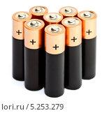 Купить «Пальчиковые батарейки», фото № 5253279, снято 15 августа 2013 г. (c) Куликов Константин / Фотобанк Лори