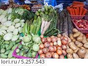 Овощной рынок в Таиланде (2013 год). Стоковое фото, фотограф Лукманов Виталий / Фотобанк Лори