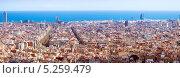 Купить «Исторический район в Барселоне в солнечный день, Испании», фото № 5259479, снято 10 июля 2020 г. (c) Яков Филимонов / Фотобанк Лори