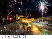 Новый 2013 год. Поселок Врангель. Стоковое фото, фотограф Sergey  Kalabin / Фотобанк Лори