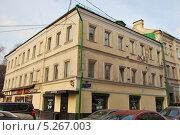 Оружейный переулок, дом 3, Москва (2013 год). Редакционное фото, фотограф Инесса Гаварс / Фотобанк Лори
