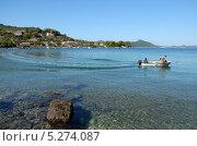 Купить «Хорватия. Морской пейзаж», эксклюзивное фото № 5274087, снято 16 сентября 2012 г. (c) Svet / Фотобанк Лори