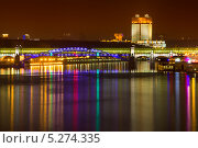 Купить «Зажёг огни столичный город», фото № 5274335, снято 2 ноября 2013 г. (c) Алексей Назаров / Фотобанк Лори
