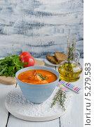Буйабес, традиционный рыбный суп. Стоковое фото, фотограф Ульяна Хорунжа / Фотобанк Лори