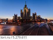 Жилой дом на Котельнической набережной (2013 год). Редакционное фото, фотограф Тимур Уразов / Фотобанк Лори