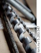 Купить «Свёрла крупным планом», фото № 5283547, снято 25 октября 2013 г. (c) Федор Кондратенко / Фотобанк Лори