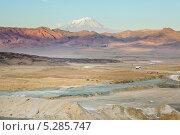 Вид на гору Арарат (2012 год). Стоковое фото, фотограф Евгений Дубинчук / Фотобанк Лори