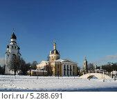 Купить «Храмы Рогожской слободы в Москве», фото № 5288691, снято 30 января 2012 г. (c) Alexey D. / Фотобанк Лори