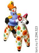 Купить «Дымковская игрушка», фото № 5294323, снято 9 ноября 2013 г. (c) Михаил Смирнов / Фотобанк Лори