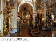 Купить «Никольский Морской собор в Санкт-петербурге», фото № 5309595, снято 24 ноября 2013 г. (c) Александр Секретарев / Фотобанк Лори