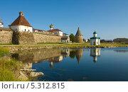 Купить «Спасо-Преображенский Соловецкий монастырь», фото № 5312815, снято 24 июля 2013 г. (c) ИВА Афонская / Фотобанк Лори