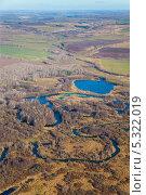 Равнинная речка осенью, фото № 5322019, снято 23 октября 2013 г. (c) Владимир Мельников / Фотобанк Лори