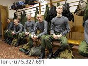 Купить «Военный призыв 2013, в областном военкомате города Железнодорожного», эксклюзивное фото № 5327691, снято 28 ноября 2013 г. (c) Дмитрий Неумоин / Фотобанк Лори