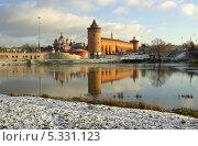 Купить «Коломенский кремль, Коломна», фото № 5331123, снято 30 ноября 2013 г. (c) Natalya Sidorova / Фотобанк Лори