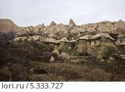 Скалы Голубиной долины (Каппадокия) (2013 год). Стоковое фото, фотограф Борис Иванов / Фотобанк Лори
