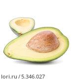 Две половинки авокадо. Стоковое фото, фотограф Natalja Stotika / Фотобанк Лори