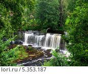 Водопад Кейла-Йоа. Стоковое фото, фотограф Александр Виноградов / Фотобанк Лори
