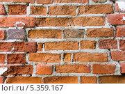 Купить «Фон кирпичной стены Свято Благовещенского мужского монастыря в Муроме», фото № 5359167, снято 26 мая 2013 г. (c) Алёшина Оксана / Фотобанк Лори