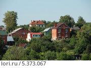 Купить «Жилые дома в Волоколамске Московской области», эксклюзивное фото № 5373067, снято 6 августа 2011 г. (c) lana1501 / Фотобанк Лори