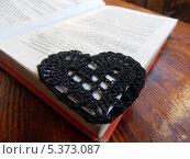 Закладка сердце (2013 год). Редакционное фото, фотограф Алёна Кочеткова / Фотобанк Лори