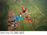 Фигура в свободном падении. Стоковое фото, фотограф Sergey  Kalabin / Фотобанк Лори